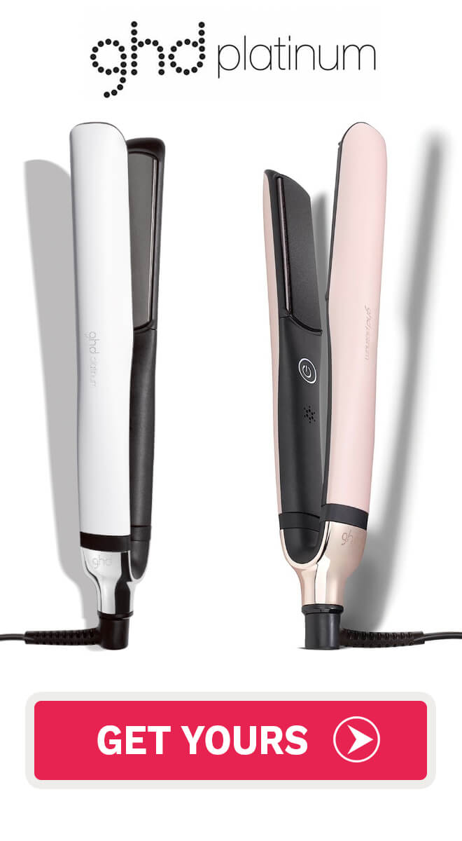 ghd Platinum hair straightener