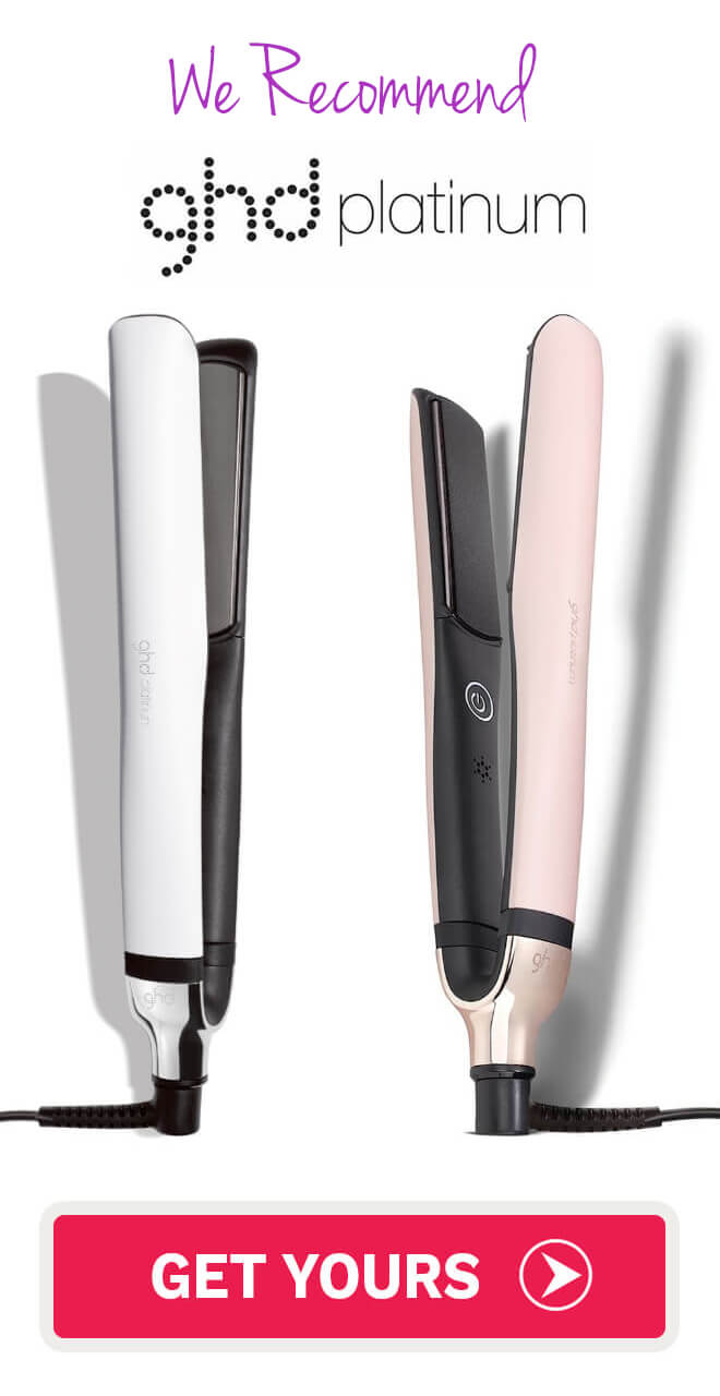 ghd professional platinum hair straightener