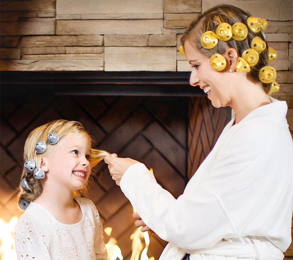Vintage Spoolies Curlers The Secret To Healthy Timeless