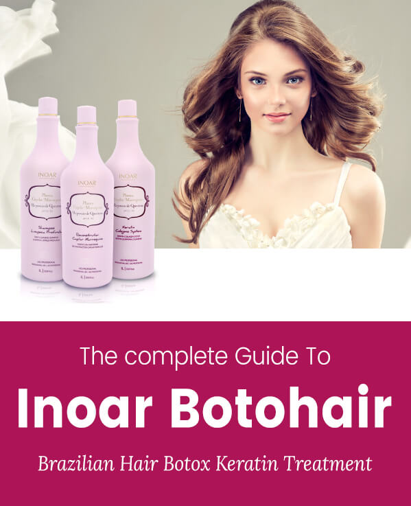 Inoar Botohair Keratin Treatment Is The Only Frizzy Hair Product You