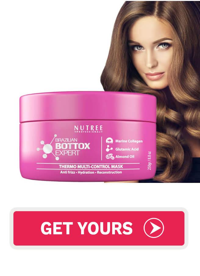 Nutree hair botox mask Brazilian Bottox Expert