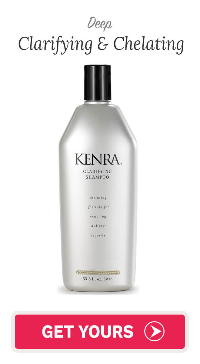 kenra clarifying shampoo and conditioner